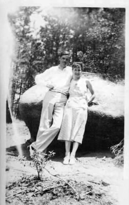 F. B. Van Kleeck, III and his wife Helen Guthridge