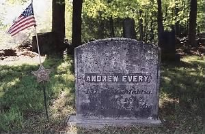 Grave of Andrew Perry Avery/Every - May 2002