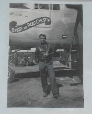 Lt Wm O'Neill, Jr. 321st Bomb Group, 445th Bomb Squad, B-25 Pilot of 44-28722