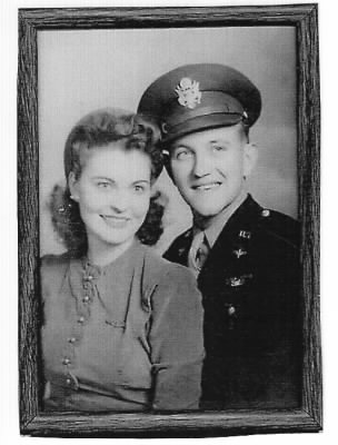 Mrs Elva and Ret Col Scheier (in the 1940's) - Fold3.com