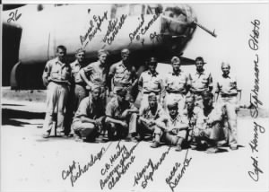 Capt Kenneth DeMay with B-25 Huckelberry Duck /Stephenson Photo