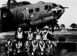 Lindley aircrew_412th Bomb Sqdn