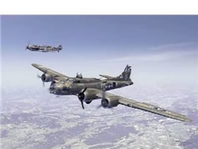The entire picture of the B-17 YE OLDE PUB