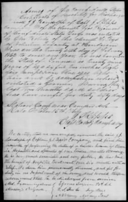 Civil War Service Record Pg.15