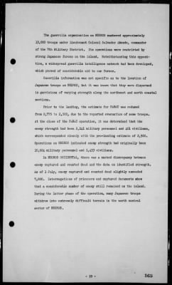 Rep of operations in the invasions & occupation of the Philippines, 1/29/45-8/20/45 › Page 165 - Fold3.com