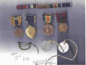 Warren Allen Love Medals