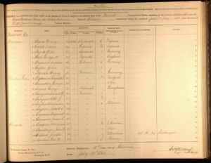 Civil War Draft Registration Book - Anderson Simpson