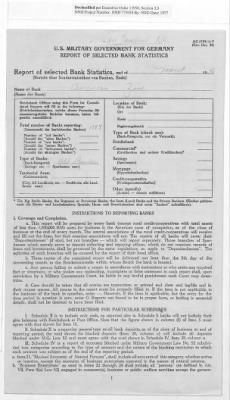 American Zone: Report of Selected Bank Statistics, March 1946 › Page 2 - Fold3.com