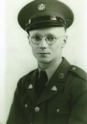 Thomas E Leach, WWII army photo