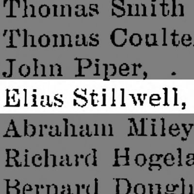 Elias Stillwell, Bedford County Justice of the Peace