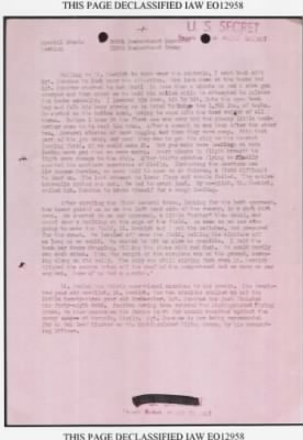 Lt James Hanlon's MISSION (Page TWO of TWO)