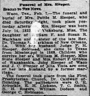 Pattie Sleeper 1910 Obit.JPG