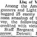 Richmond VA News article, April 12, 1943 LIST OF VICTORS (please see next page)