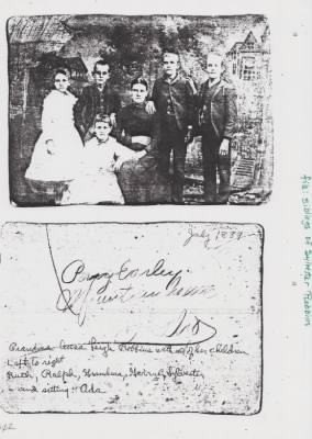 Juan G. Robbins' Family one year after his death.