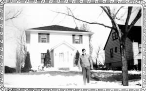 Sgt Richard Wigton at home Gilman Terrace, Sioux City, Iowa