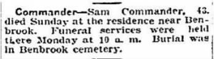 Sam Commander 1915 Death Notice.JPG