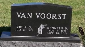 KENNETH D. VANVOORST