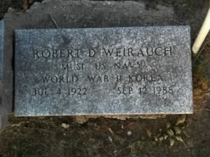 Robert D Weirauch