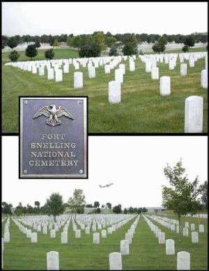 Fort Snelling National Cemetery Minn