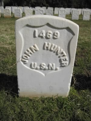 Seaman John Hunter Headstone - Fold3.com