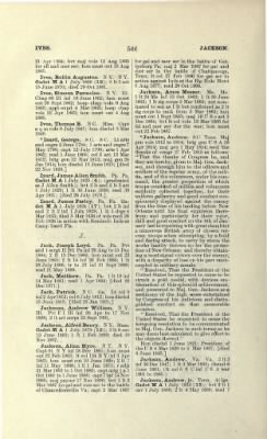 Part II - Complete Alphabetical List of Commissioned Officers of the Army › Page 418 - Fold3.com