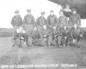 My Grandfather with his crew