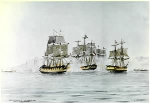 Macdonough's Victory on Lake Champlain, 1814