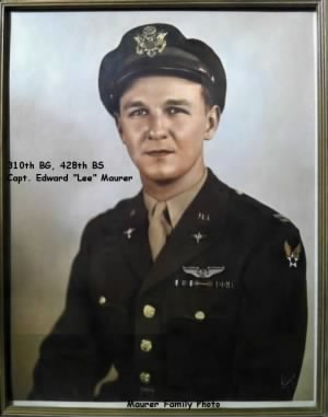 310thBG, 428th BS, Capt. Edward LEE Maurer, 70 Combat Missions in the B-25 Mitchell/ MTO