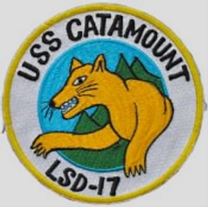 USS CATAMOUNT DRAWING