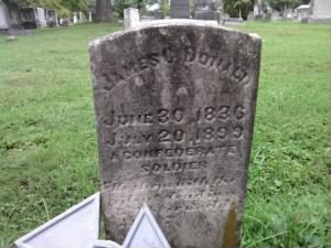James Calvin Donald Tombstone