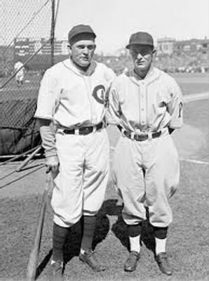 Rogers Hornsby  Paul Waner