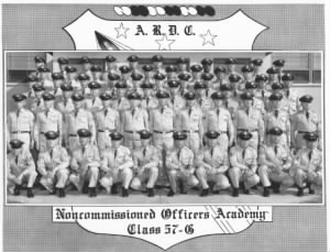A.R.D.C. Noncommissioned Officers Academy Class 57G Kirkland A.F.B., New Mexico