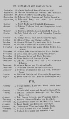 Marriage Record of St. Michael's and Zion Church, Philadelphia. 1745-1800. › Page 299 - Fold3.com