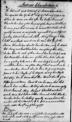 Andrew Chamberlain 1793 Will LDS Copy.jpg