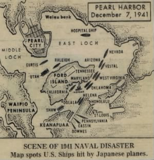 7 Dec 1941Pearl Harbor