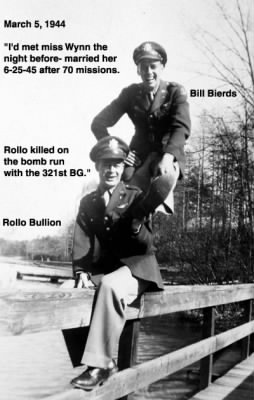 Rollo Bullion with Bill Bierds, Grad Photo of Bill Bierds