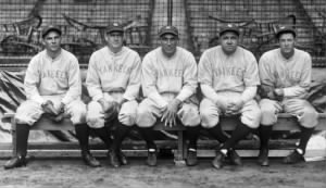 1927 Yankees Outfielders