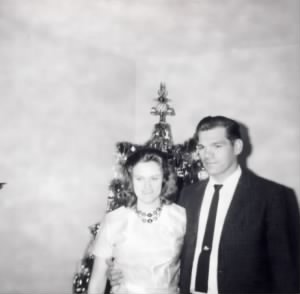Howard & Mary Drew Christmas 1965