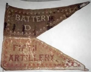 Flag of the 5th Regiment U.S. Army Battery D