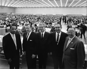 Martin Luther King, Civil Rights, Cobo Hall, 1962