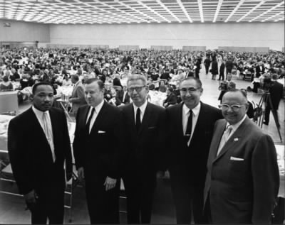 Martin Luther King, Civil Rights, Cobo Hall, 1962 - Fold3.com