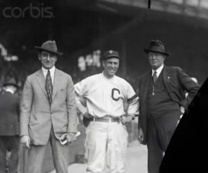 Cy Young, Napoleon Lajoie and Tris Speaker