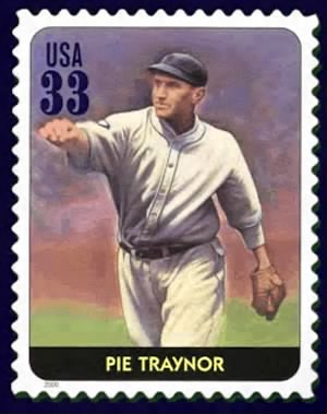 Pie Traynor Stamp