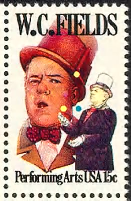 W.C. Fields Stamp