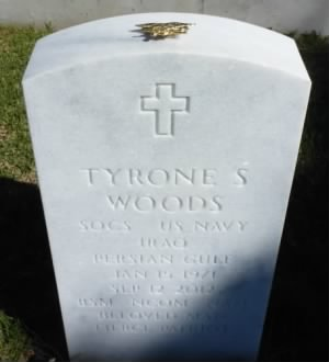 Wood's grave at Fort Rosecrans National Cemetery