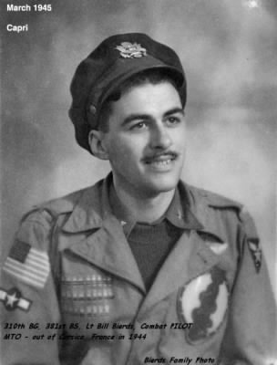 310th Bomb Group, 381st BS, Pilot- Lt. Bill Bierds 1944 - Fold3.com
