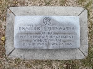 The Grave of Edward John Fitzwater