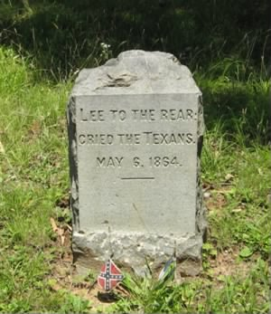 Lee To The Rear Monument