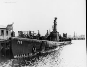 1943-1945, MO-0000, Submarines/USS Parche (SS-384)