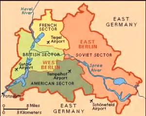 BERLIN AIRLIFT SECTORS